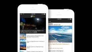 Greentech Media iOS app